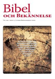 Bibel och Bekännelse 2009 nr 2