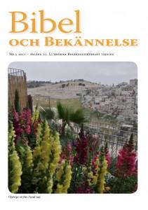 Bibel och Bekännelse 2011 nr 3