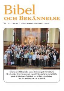 Bibel och Bekännelse 2011 nr 4