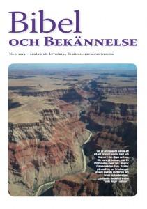 Bibel och Bekännelse 2012 nr 1
