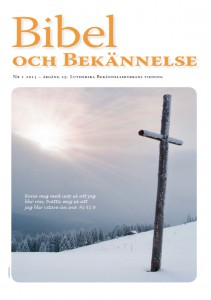 Bibel och Bekännelse 2015 nr 1