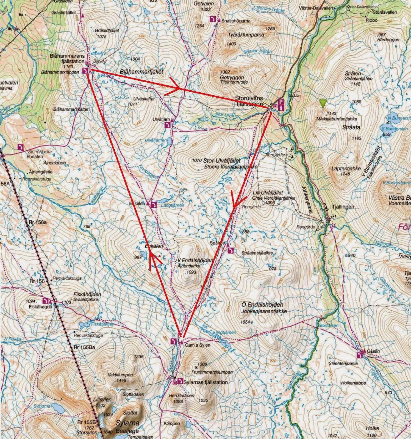jämtlandstriangeln karta Lutherska Bekännelsekyrkan | LBK – Fjälläger i Jämtlandstriangeln  jämtlandstriangeln karta
